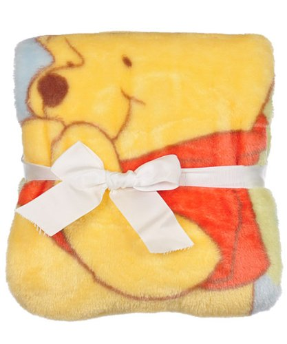 Kids Line Disney Winnie The Pooh High Pile Blanket front-992273