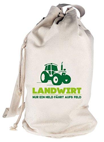 Landwirt-Trecker-Traktor-Bauer-bedruckter-Seesack-Umhngetasche-Schultertasche-Beutel-Bag-Gre-onesizenatur