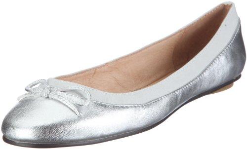 Buffalo, 207-3562, Ballerine, Donna, Argento (Silber/SILVER), 39