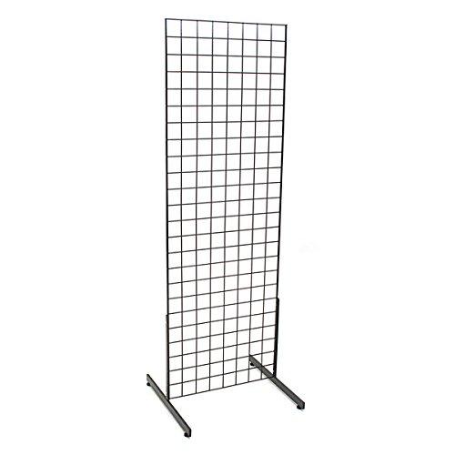 kc-store-fixtures-05351-grid-unit-2-x-6-with-legs-black