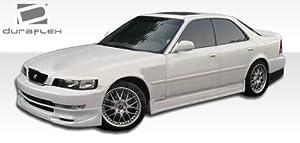 1996-1998 Acura TL 2.5 Polyurethane VIP Body Kit - 4 Piece - Includes VIP Front Lip Under Spoiler Air Dam - Polyurethane (104879) VIP Rear Lip Under Spoiler Air Dam - Polyurethane (104882) VIP Side Skirts Rocker Panels - Polyurethane (104881)