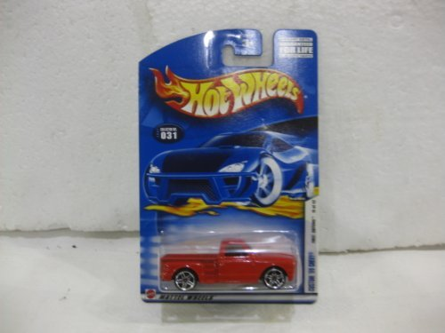 First Editions #19 Of 42 Custom '69 Chevy In Red Diecast 1:64 Scale Collector #31 By Hot Wheels - 1
