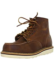 Red Wing Heritage Men's Classic Work 6-Inch Moc Toe Boot - Leather