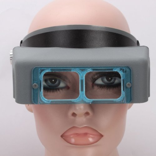 Usa Seller 1.5X 2X 2.5X 3.5X Double Lens Headband Head Wearing Magnifier Loupe