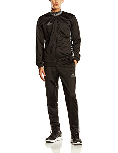 Adidas-Tuta da uomo Condivo 16, Uomo, Trainingsanzug Condivo 16, Black/Vista Grey, M