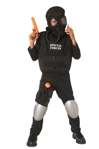 [Child's Special Forces Costume, Medium] (Army Men Halloween Costumes)
