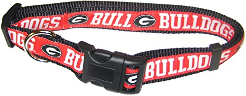 Pets First Collegiate Georgia Bulldogs Pet Collar, Medium (Bulldog Puppy Collar compare prices)