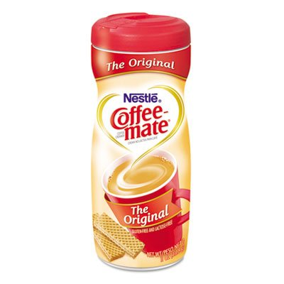 Nestle' Usa Products - Powdered Creamer, Original, 11 Oz, 1/Bx - Sold As 1 Ea - Coffee-Mate Creamer Offers The Highest Quality For Rich Taste, Creamy Texture And Superior Whitening. Creamer Dissolves Quickly And Easily Without Diluting Or Cooling Coffee. front-1033435