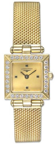Longines Prestige 18k Gold Diamond Womens Watch L4.234.7.32.6