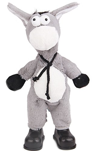 Plush animal electric pets shook his head donkey singing and dancing winging toys for children Christmas gift (Marvel Quest O compare prices)