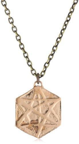 Kelacala Q Copper Antique Brass Alchemy Necklace