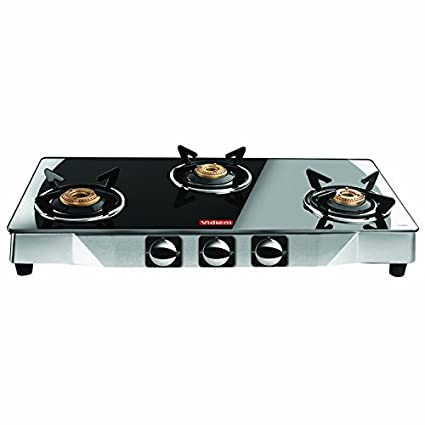 Vidiem Edge Gas Cooktop (3 Burner)