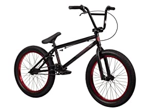 Kink 2014 Curb BMX Bike, Matte Black, Toptube: 20-Inch