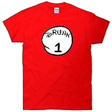 Drunk 1 2 3 4 Funny T-Shirt T-Shirt