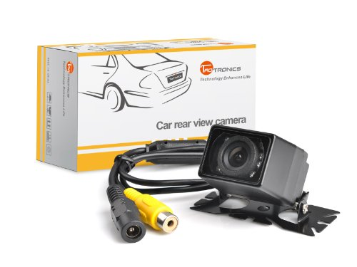 TaoTronics® TT-CC12 Universal Car Surface Mount Rear View Backup Camera (Waterproof IP67 / Color CMOS / 135 Degree Viewing Angle / Distance Scale Line)
