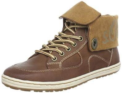 s.Oliver Casual 5-5-25124-31, Damen Sneaker, Braun (MUSCAT 311), EU 36