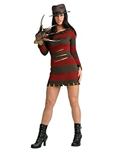 Women's Sexy Freddy Krueger Costume