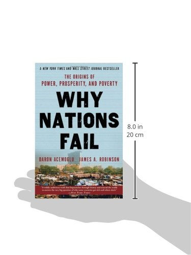why some nations fail Daron acemoglu and james robinson's why nations fail is grand history in the style of jared diamond it is provocative and fun the theme is that the reason nations fail or succeed is not -- as earlier authors argue -- economic policies, geography, culture, or value systems -- but rather political.
