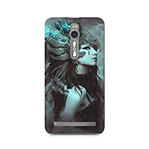 Mobicture Pattern Premium Designer Mobile Back Case Cover For Asus Zenfone 2