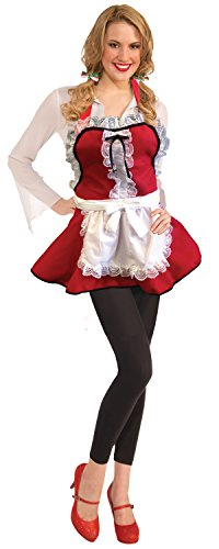 Rubie's Costume Women's Clausplay Miss Santa Apron