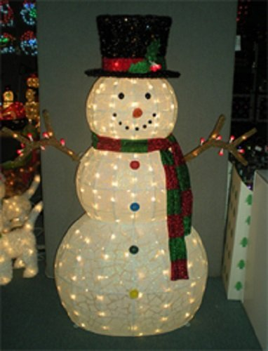 Snowman lighted yard displays christmas wikii frosty wants a hug 48 outdoorindoor lighted snowman 105 lights this 4 frosty is a great addition to any indooroutdoor christmas decor workwithnaturefo