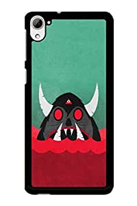 Caseque Devil Bull Back Shell Case Cover For HTC Desire 826
