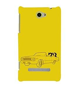 EPICCASE Vintage car 1973 Mobile Back Case Cover For HTC One M10 (Designer Case)