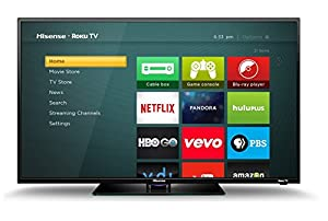 Hisense 40H4C 40-Inch 1080p Roku Smart LED TV (2015 Model) (Certified Refurbished)