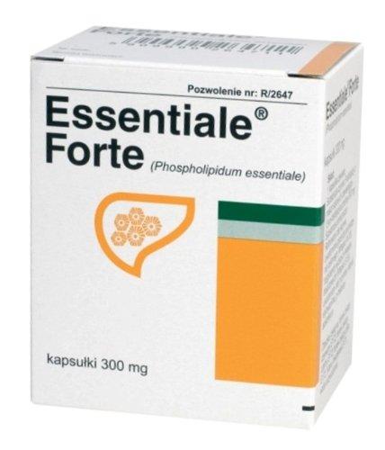 A. Nattermann & Cie GmbH (Germany) ESSENTIALE ® forte 60 Kapseln - Leberschutz - 100% natürliche und ohne Nebenwirkungen Ergänzung - 2x30 Kapseln