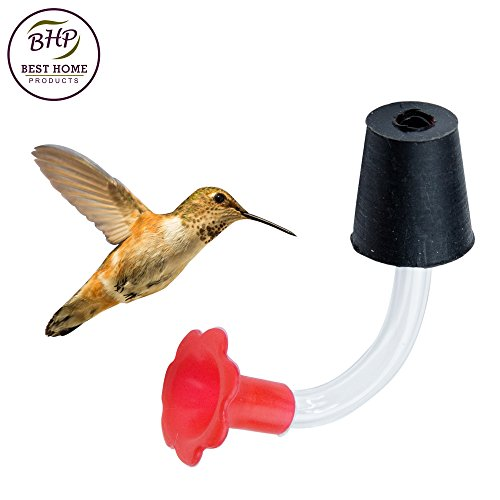Bird Replacement Parts : Hummingbird feeder tubes stoppers make your own