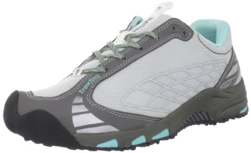 Treksta Women's Edict Trail Running Shoe,Grey/Blue,10 M US