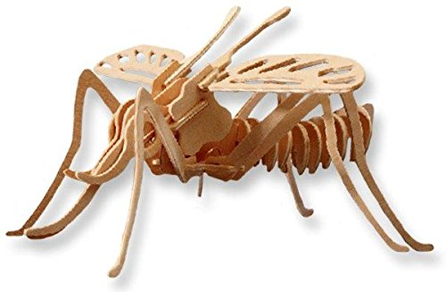 3-D Wooden Puzzle - Mud Daube Wasp -Affordable Gift for your Little One! Item #DCHI-WPZ-E031