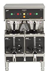 "Wilbur Curtis GEM-12D-10 Gemini Coffee Brewer, 1.0-Gallon, 29"" Height x 18"" Width from Wilbur Curtis Co. Inc."