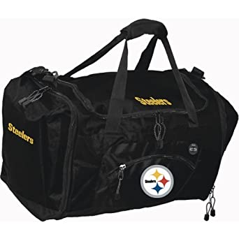 Pittsburgh Steelers Duffel Bag - Roadblock Style by Concept 1