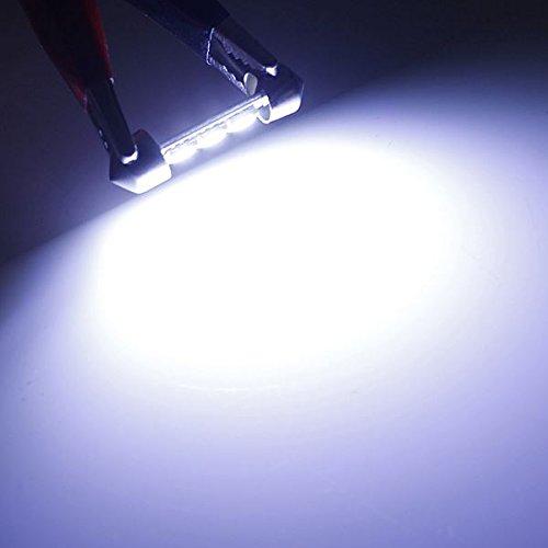 36mm 3SMD 5050 LED Auto Auto Haube Girlande Innenglühlampe Weiß