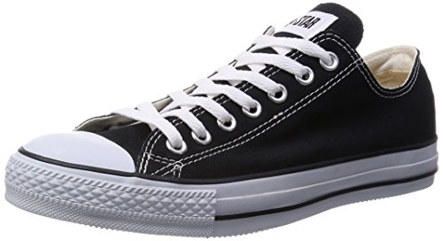 [コンバース] CONVERSE CANVAS ALL STAR OX M9166 BLACK (ブラック/US7(25.5cm))