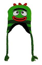 Brobee Yo Gabba Gabba Laplander Peruvian Hat