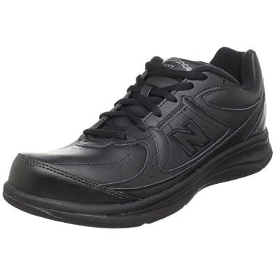New Balance Women's WW577 Walking Shoe,Black,5 B US