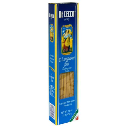 De Cecco Pasta Pasta Linguine Fini 16 oz. (Pack of 20)