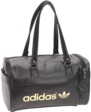 adidas originals ac teambag mini sac de sport femme noir cuir chaussures et sacs. Black Bedroom Furniture Sets. Home Design Ideas