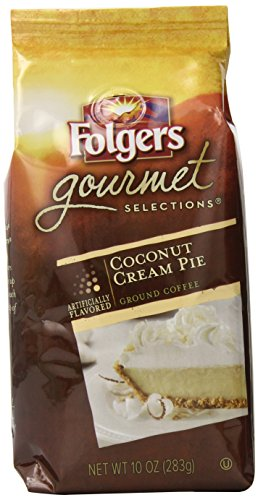 folgers-gourmet-selections-coconut-cream-pie-flavored-coffee-10-ounce