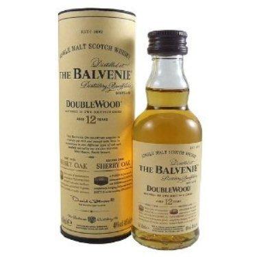 Balvenie Double Wood 12 year old Single Malt Whisky 5cl Miniature by Balvenie