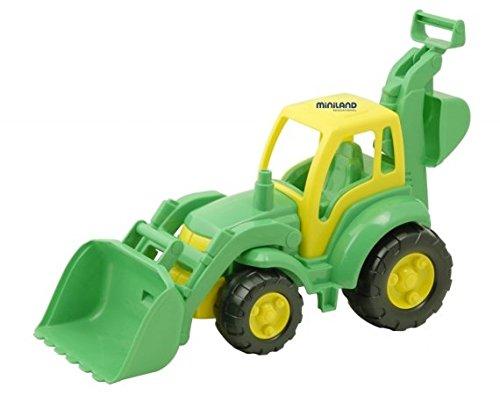 Miniland Super Tractor And Digger front-1034348