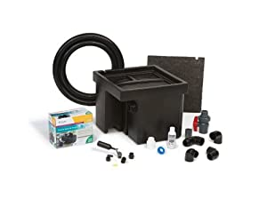 Atlantic Water Gardens Basin and Pump Kit for Spillways, 12-Inch