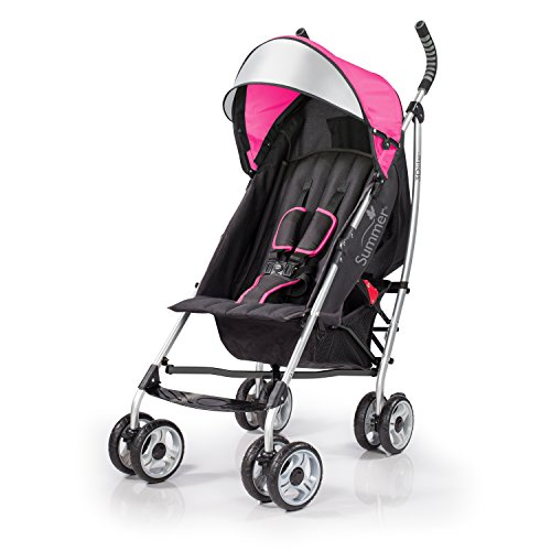 Purchase Summer Infant 2015 3D Lite Convenience Stroller, Hibiscus Pink