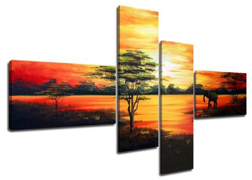 Visario 6504 set de tableaux sur toile taille...