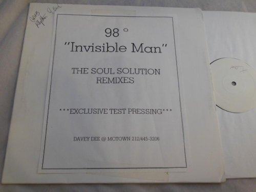 "Invisible Man - Test Pressing 12"" - Motown - 374632099 1"