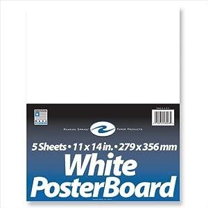 "Poster Board 11"" x 14"""