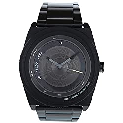 Tacs Lens Analog Black Dial Unisex Watch -TS1002C