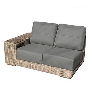 rattan sofa rechts bridgman kingston modular 2 sitzer spurstange links und rechts. Black Bedroom Furniture Sets. Home Design Ideas